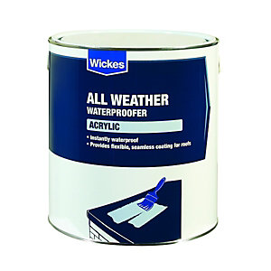 Wickes Acrylic High Perfomance Roof Waterproofer 4L