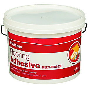 Wickes Multipurpose Flooring Adhesive 2.75kg