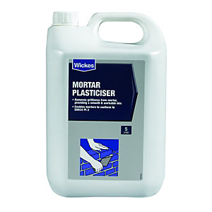 Wickes Mortar Plasticiser 5L