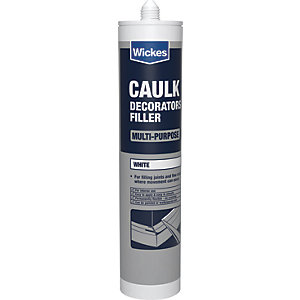 Wickes Decorators Caulk White 310ml