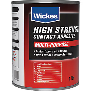 Wickes High Strength Contact Adhesive 1L
