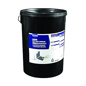 Wickes Bitumen Based Damp Proof Membrame Liquid 25L