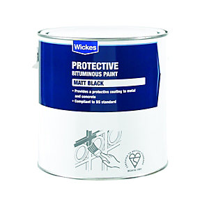 Wickes Bitumen Protective Paint For Metal & Concrete 2.5L