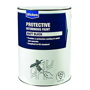 Wickes Bitumen Protective Paint For Metal & Concrete 5L