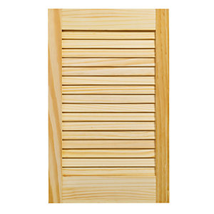 Wickes Internal Closed Louvre Door Pine 610X381mm