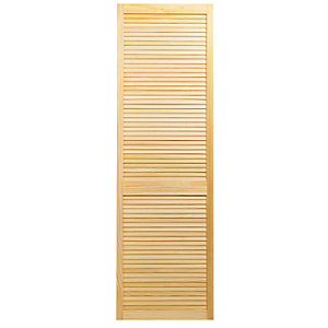 Wickes Internal Closed Louvre Door Pine 1829X610mm