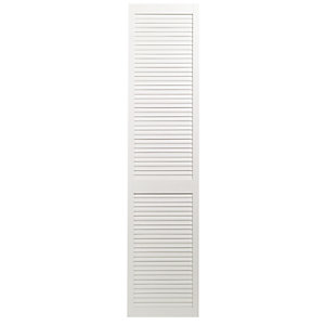 Wickes Internal Closed Louvre Door White Primed 1981X457mm