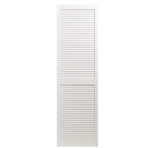 Wickes Internal Closed Louvre Door White Primed 1829X533mm