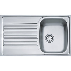 Franke Galileo 1 Bowl Stainless Steel Sink