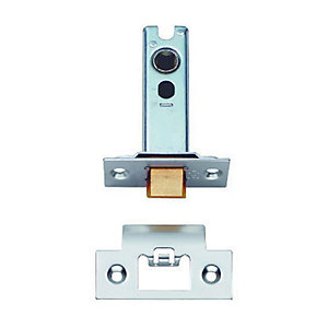4FIREDOORS Heavy Duty Tubular Latch Satin Stainless Steel 76mm