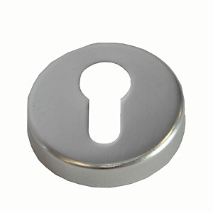 4FireDoors Euro Profile Escutcheon Satin Stainless Steel PK2