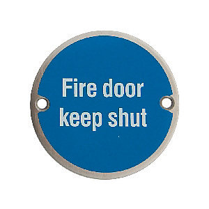4FireDoors Fire Door Keep Shut Sign 75mm PK2
