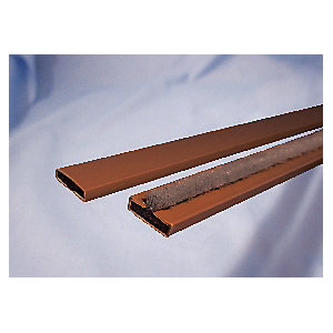 4FireDoors Intumescent Fire Seal Brown 15 x 4mm Single Door PK5