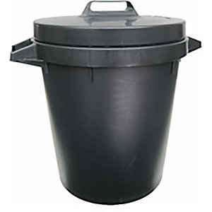 Heavy Duty Dustbin With Lid 90L