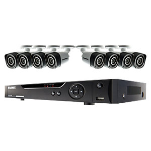 Lorex LHV10081TC8P 720P Hd 8 Input with 8 Bullet Camera 1TB Recorder Cctv Bundle