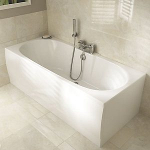 Wickes Orani Double Ended Bath 1700mm