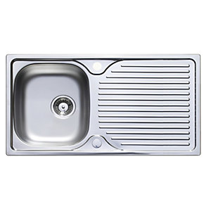 Horizon Single Bowl Steel Sink