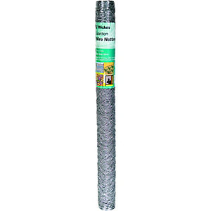 Wickes 50mm Wire Netting 0.9mx10m Galvanised