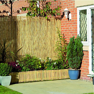 Wickes Reed Garden Screening 2mx4m