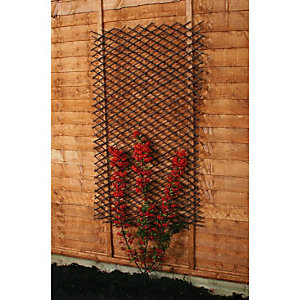 Wickes Expanding Willow Trellis 1.83m x 600mm