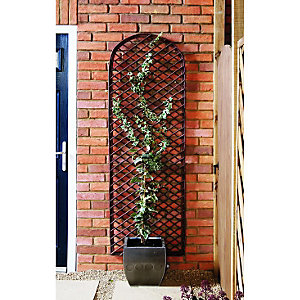 Wickes Willow Curved Trellis 1.83m x 600mm