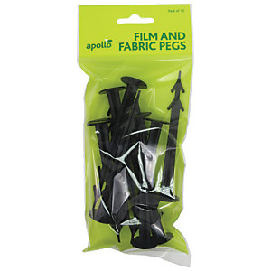 Image of Fleece & Fabric Pegs Pack 10