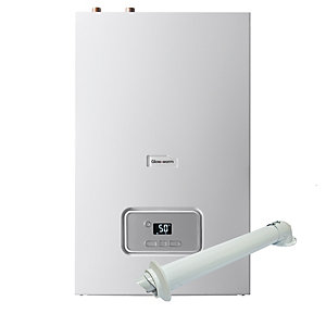 Glow-worm Energy 18R Heat Only Boiler & Standard Horizontal Flue Pack Erp