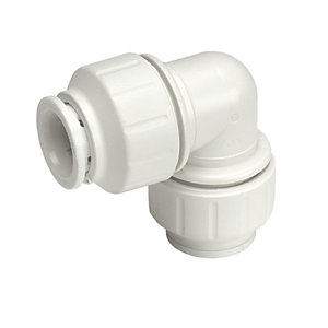 Speedfit Equal Elbow 22mm White PEM0322W