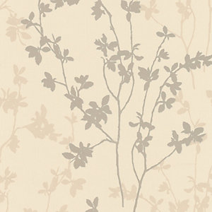 Superfresco Colour Nature Decorative Wallpaper Cream