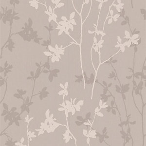 Superfresco Colour Nature Decorative Wallpaper Taupe