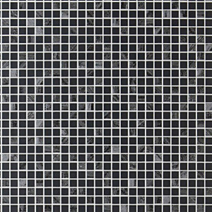 Contour Aurora Decorative Wallpaper Black/Silver