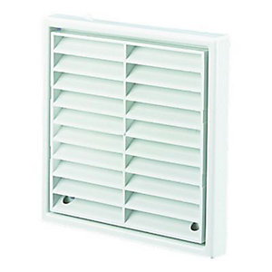 Wickes External Wall Grille 150mm