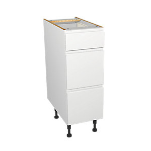 Wickes Madison White Drawer Unit 300mm