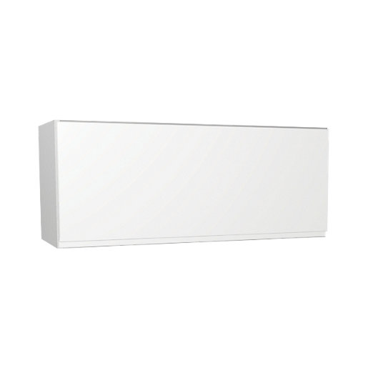 Wickes madison white narrow wall unit 900mm for Slim kitchen wall units