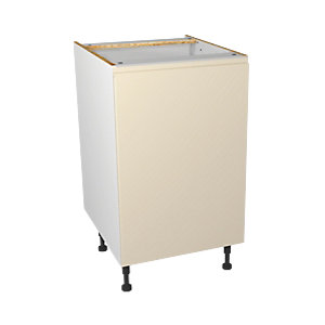 Wickes Madison Cream base unit 500mm