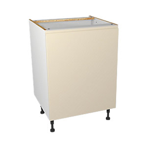 Wickes Madison Cream Base Unit 600mm