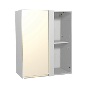 Wickes Madison Cream Corner Wall Unit 600mm