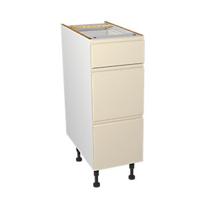 Wickes Madison Cream Drawer Unit 300mm