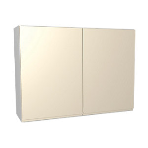 Wickes Madison Cream Wall Unit 1000mm