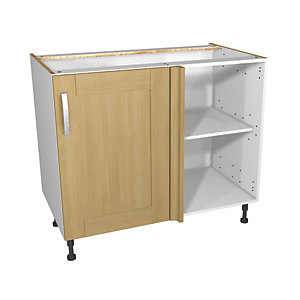 Wickes Tulsa Corner base unit 1000mm
