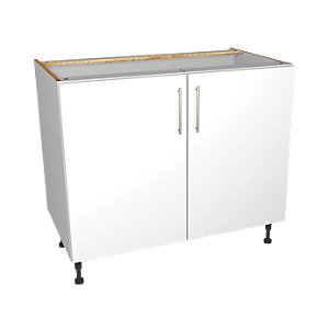 Wickes Orlando White Base Unit 1000mm
