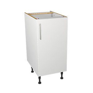 Wickes Orlando White Base Unit 400mm