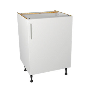 Wickes Orlando White base unit 600mm