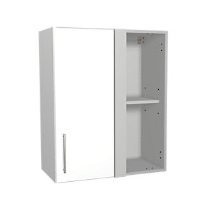 Wickes Orlando White Corner Wall Unit 600mm