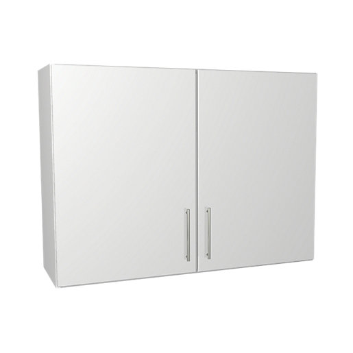 wickes orlando white wall unit 1000mm
