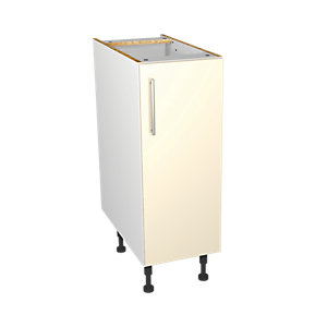 Wickes Orlando Cream Base Unit 300mm