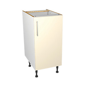 Wickes Orlando Cream Base Unit 400mm