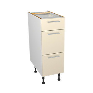 Wickes Orlando Cream Drawer Unit 300mm