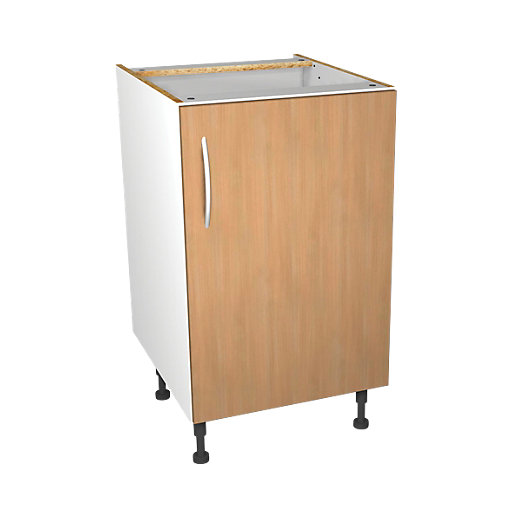 Wickes oakmont base unit 500mm for Kitchen cabinets 500mm