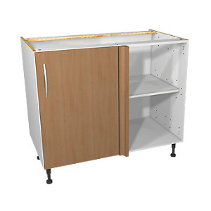 Wickes Oakmont Corner Base Unit 1000mm